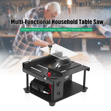 Saw-Cutter-Tool Table Benches Electric-Cutting-Machine Desktop Woodwoking Adjustable-Speed