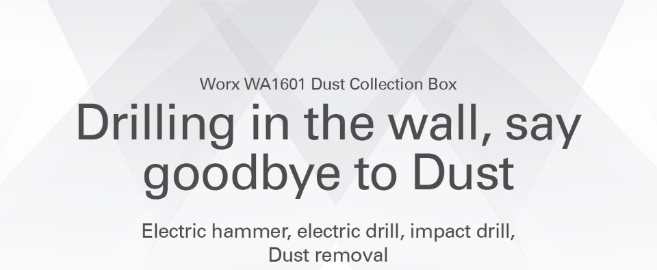 WORX WA1601 Dust Collection Box