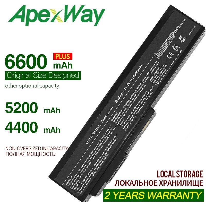 ApexWay 10.8V A32-M50 A32-N61 A32-X64 A33-M50 Laptop Battery For Asus M50 N53 M50s N53S  N61 N61J N61Jq N61V N61Vg N61Ja N61JV