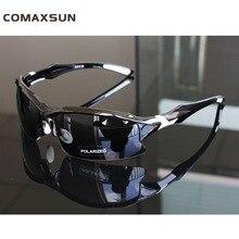Comaxsun поляризационные Велоспорт очки велосипед очки Спорт MTB велосипедный солнцезащитные для женщин очки для близорукости рамки UV 400