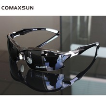 Comaxsun Professional Polarized Cycling Glasses Bike Goggles Sports MTB Bicycle