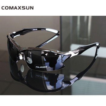 Comaxsun profesjonalne spolaryzowane okulary rowerowe gogle sportowe MTB okulary przeciwsłoneczne na rower okulary oprawki do okularów korekcyjnych UV 400 tanie i dobre opinie Polarized 4 cm XQ129 MULTI 7 1 inch Poliwęglan Octan Jazda na rowerze