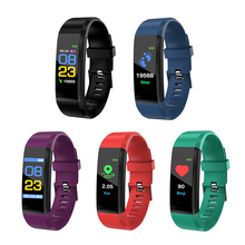 Smart Bracelet Band Color Screen Blood Pressure Fitness Tracker Heart Rate Monitor Smart Band Sport Wristband for Android IOS 2018 p3 smart wristband bracelet color screen blood pressure fitness tracker heart rate monitor smart band sport for android ios