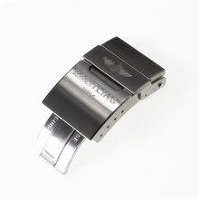 Высокое качество роскошные серебряные 20 мм застежка для Breitling Challenger нержавеющая сталь Ремешок Пряжка авиационный Хронограф серии кнопка