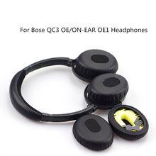 Oreillettes pour Bose QC3 OE/sur-oreille OE1, oreillettes de remplacement, coussinets Audio, accessoires de bandeau, couvre-oreilles
