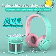 Детские беспроводные наушники подавление шума bluetooth гарнитура