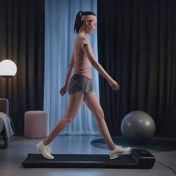 A1 Smart Electric plegable WalkingPad Control automático de velocidad LED Display Fitness pérdida de peso interior gimnasio en casa