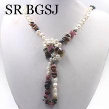 Free Shipping Women Jewelry Wholesale Natural 6-7mm White Pe