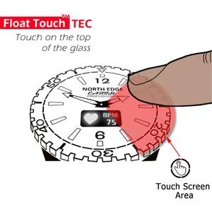 Image 4 - Kuzey kenar erkek spor akıllı saatler su geçirmez 50M pedometre nabız monitörü spor izci FLOAT dokunmatik tec ekran saati