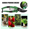 VOGVIGO Pruning shears strong carbon 8 inch garden hand pruning shears pruning machine cutting machine plant tools flash sale