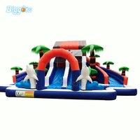 YARD Inflatable Water Park Slide Jumper Pool Water Castle for Sale