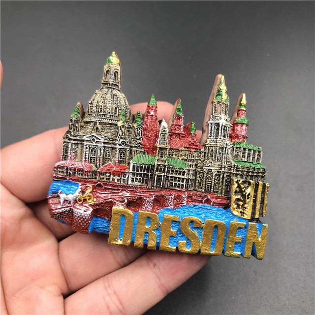 15 European Countries Famous Scenery Fridge Magnet 7-12cm Resinmagnetic Stickers Home Refrigerator Decoration Kitchen Decor 2