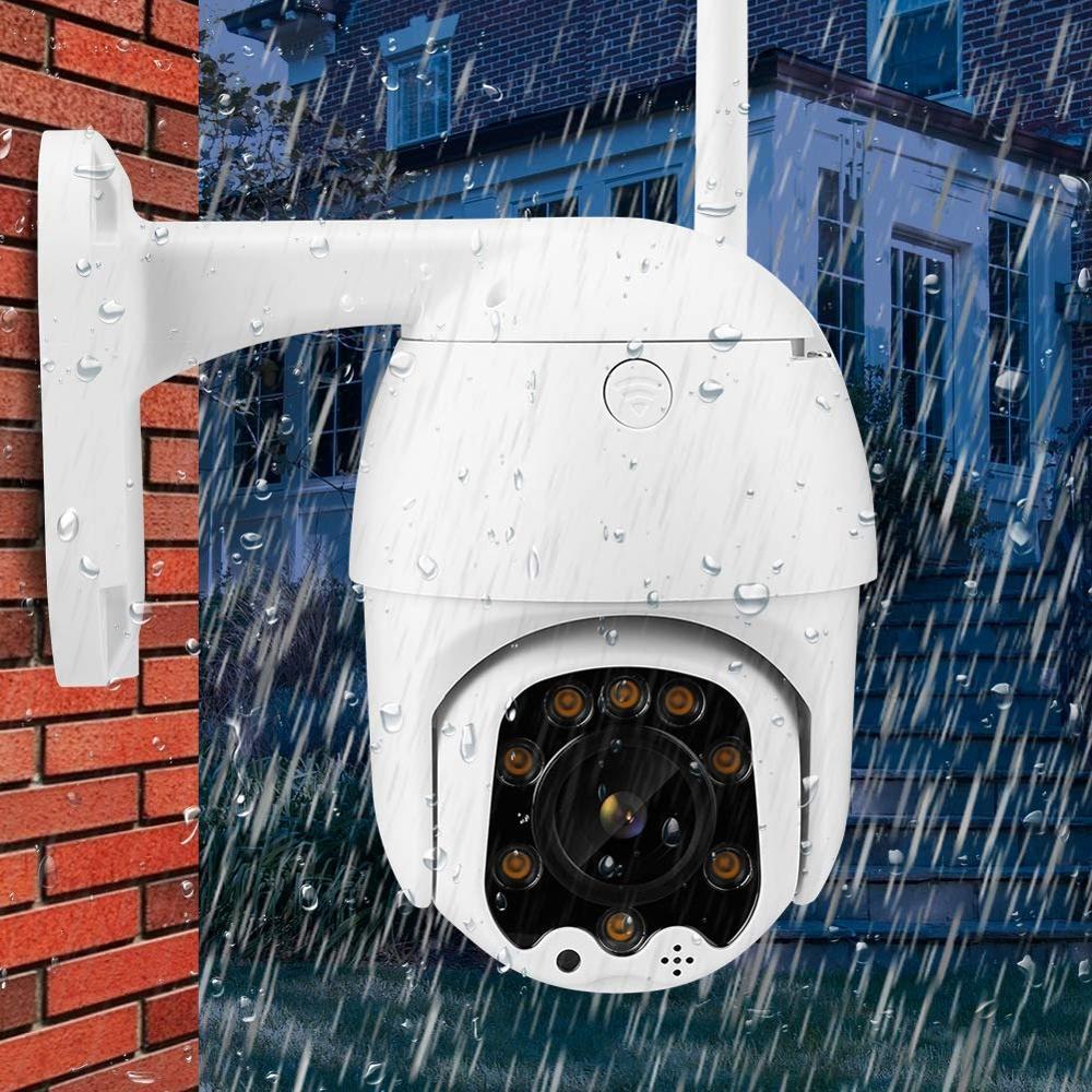 Ip Camera PTZ Wifi Outdoor Dome Night Vision Onvif Cctv Mini Waterproof Home Security