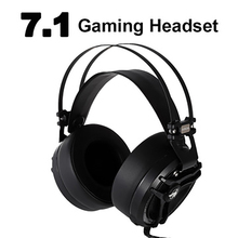 7.1 Sound Wired Headphones Gaming Headset with Mic LED Light For PS4 XBOX-ONE Computer Gamer Laptop PC MAC ihens5 computer usb 7 1 channel sound stereo gaming headphones gamer headset with mic led light for ps4 pc laptop xbox one gamer