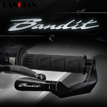 Motorcycle Accessories Aluminum Brake Clutch Levers Guard Protection For Suzuki BANDIT