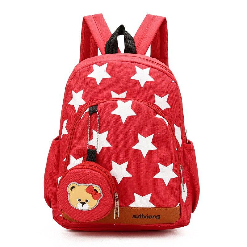 Hot Star School Bag Set For Nursery School Boys Girls Cute Student Kids Schoolbag Cool Primary Children Bookbags
