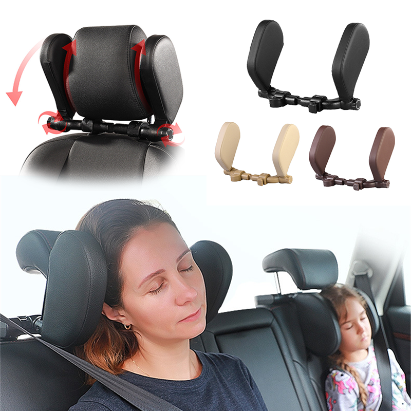 Car Seat Headrest Pillow Headrest Travel Rest Neck Pillow Neck Support Pillow Support Solution Car Accessories  For Car