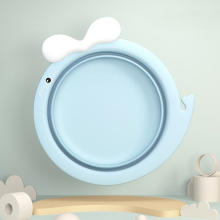 Portable Baby Basin Newborn Bathtub Cartoon Kids PP Thicken Face Foot Ass Basin