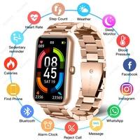 Pulsera inteligente para hombre y mujer, reloj deportivo resistente al agua con control del ritmo cardíaco