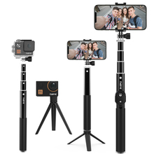 Selfie Stick Tripod Wireless Bluetooth Remote Exte