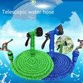 Растягивающийся водяной шланг с распылителем  магический гибкий садовый шланг 25-250 футов  пластиковые шланги ЕС с насадкой для полива и мыть...
