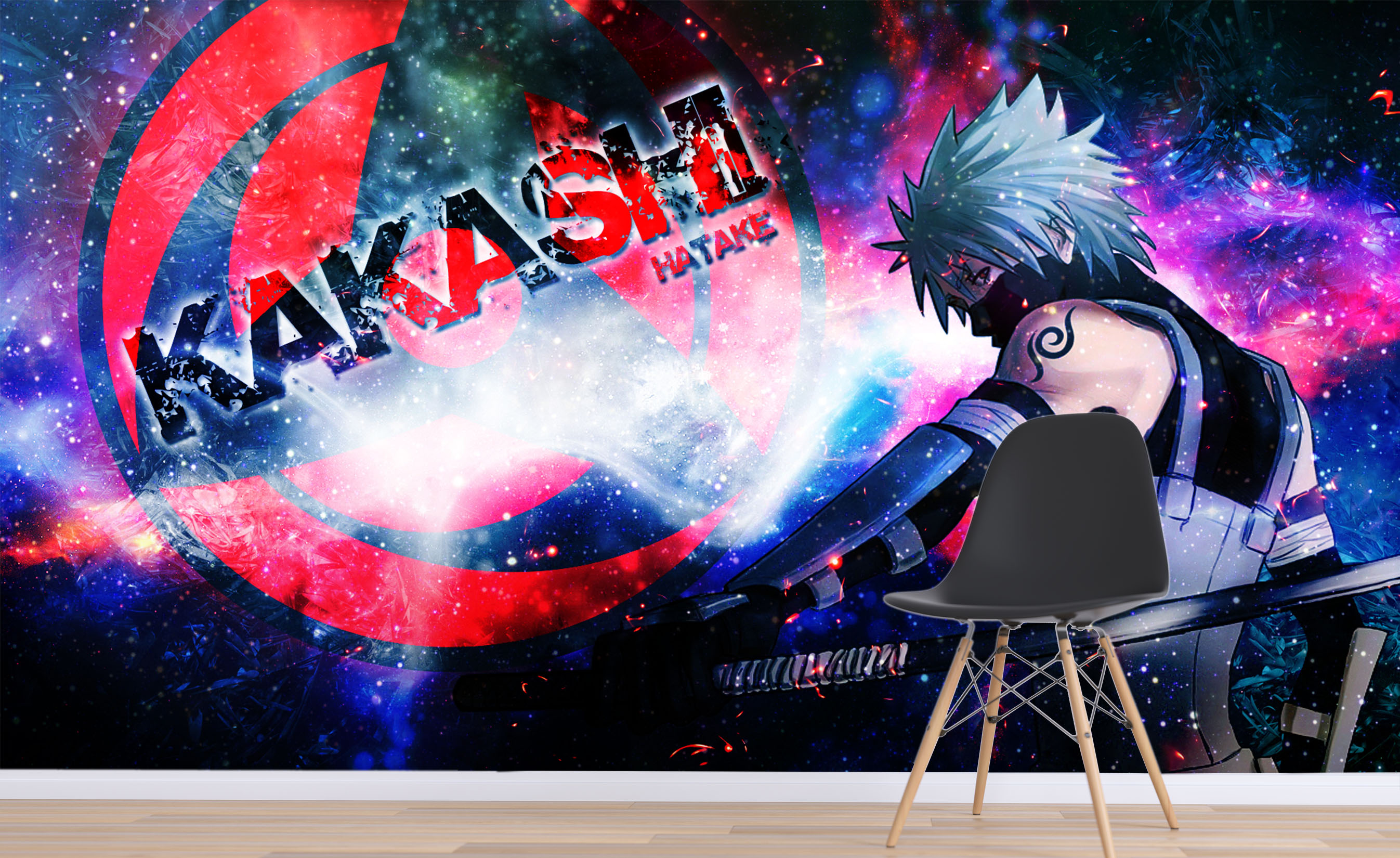 US $23 99 [Self Adhesive] 3D Naruto Japan Anime Wall Paper Mural Wall Print Decal Wall Murals Wallpapers