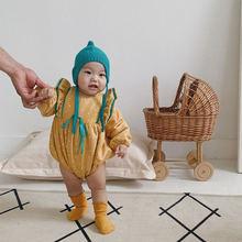 Детские комбинезоны для новорожденных осенне зимняя одежда с