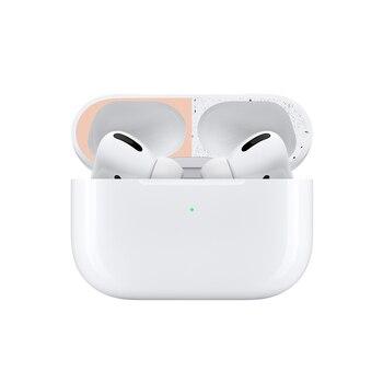 Pegatina protectora de polvo de Metal para Apple AirPods Pro Cover Protector de piel a prueba de polvo pegatina protectora para Airpods 2019 Accesorios