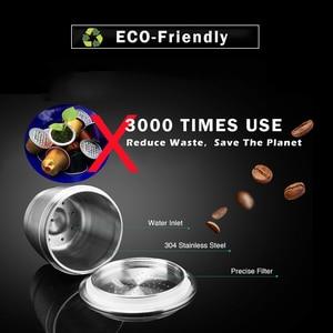 Image 2 - iCafilas Refillable Coffee Capsules Reusable Pods Compatible With Nespresso Inissia capsula nespresso reutilizable