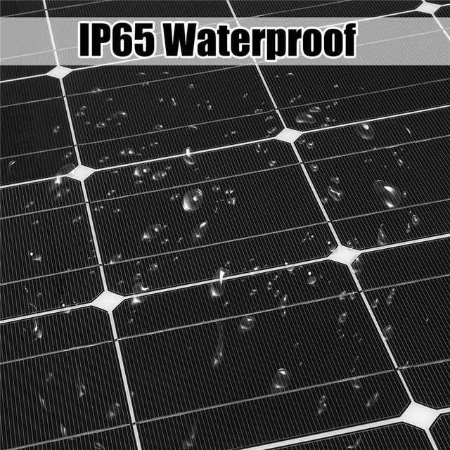 Solar Panel 36V Semi Flexible 200W solar system for yacht/RV/car/boat RV with MC4 Connector
