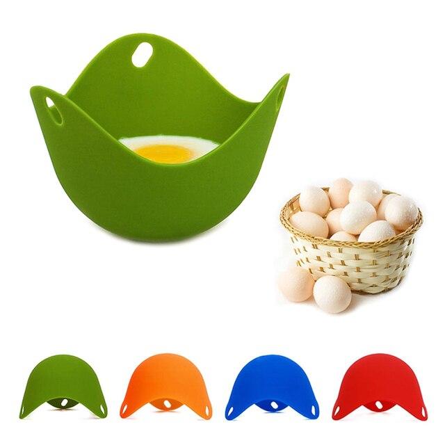 5 sztuk garnek do gotowania jajek kłusownictwo strąki jajo silikonowe formy miska pierścienie kuchenka kocioł Cuit naleśnikarka gotowanie przybory kuchenne