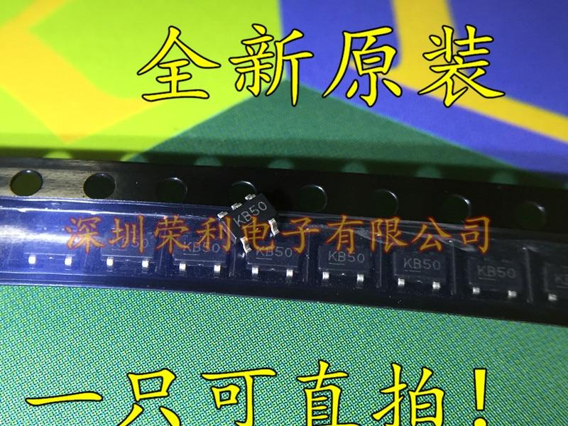 10 peças novo MIC5205-5.0YM5 MIC5205-5.0BM5 kb50 sot-23 ldo em estoque