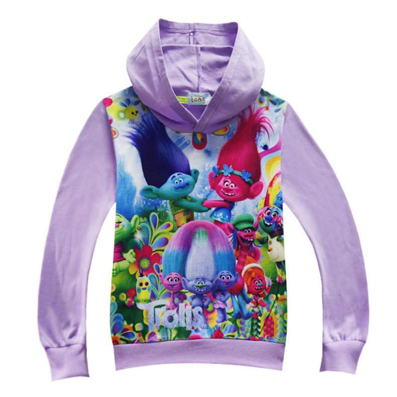 Anak-anak Lucu Sihir Elf Sweatshirt Musim Semi Musim Gugur Lengan Panjang Kapas Kartun Anak Laki-laki Anak Perempuan Hoodie Kostum Cosplay C20803CH