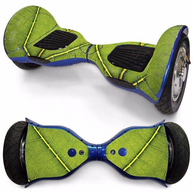 10 pulgadas 2 ruedas auto equilibrio eléctrico scooter aerotabla de etiqueta engomada de la cubierta del protector de Mini Hover colorida decoración de papel
