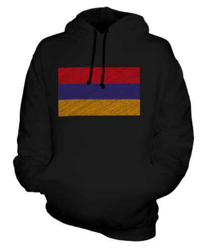 Армения каракули Флаг худи унисекс Топ подарок Айастан армянский