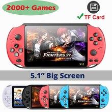 X12 Video Game Игровая Консоль العاب Retro Handheld Gaming Console Игровые Приставки Приставка Игры Consola Тетрис Juegos