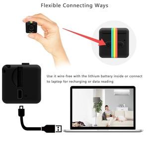 Image 3 - SQ11 mini Macchina Fotografica HD 1080P piccola cam Sensore di Visione Notturna Videocamera Micro video Camera DVR DV Motion Recorder Camcorder SQ 11