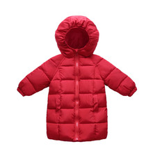 Girl Warm Baby Jacket Childrens Coat Jacket Boy Junior Thicken Jacket Cold Boys Girls 2 13 Years Down Jacket Cotton Jacket