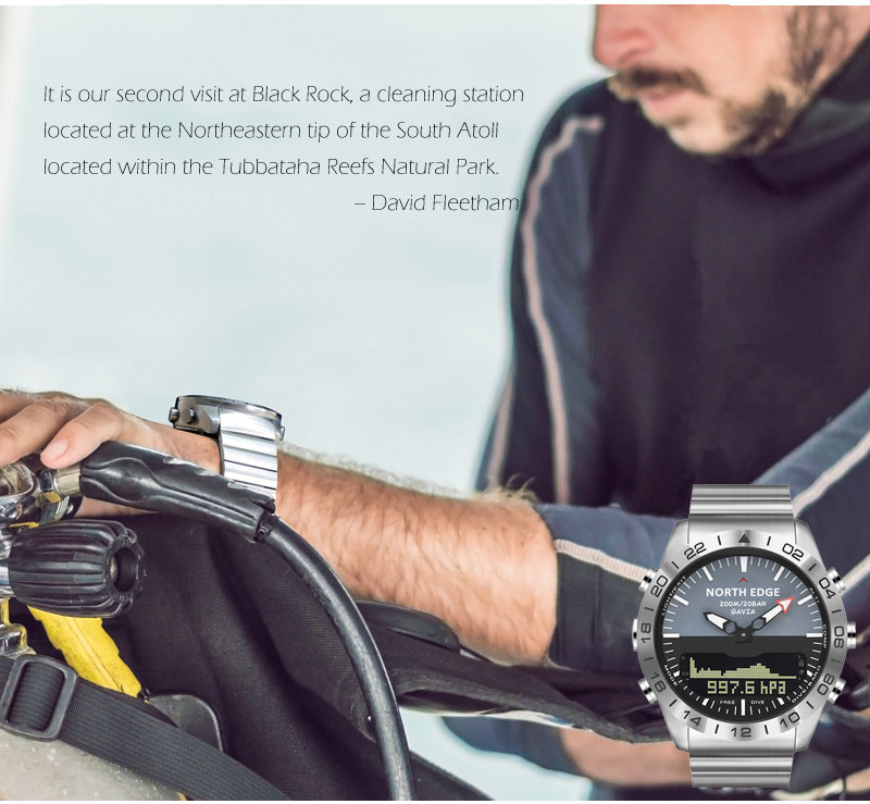 água mergulho relógio de pulso profissional relógios
