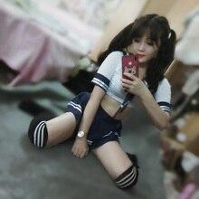 Женский японский секс школьная форма мини-юбка для школьника JK костюм Матросская трубка Топы сексуальное женское белье косплей костюм