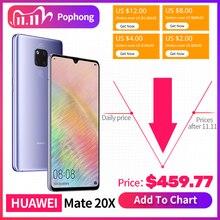 HUAWEI Smartphone Mate 20 X Mate 20X, pantalla completa de 7,2 pulgadas, 2244x1080, Kirin 980, ocho núcleos, EMUI, 9,0, 5000mAh, 4 * Cámara, Cargador rápido
