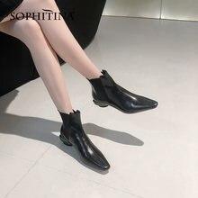 Sophtina женские ботинки; Модные Элегантные зимние ботинки высокого
