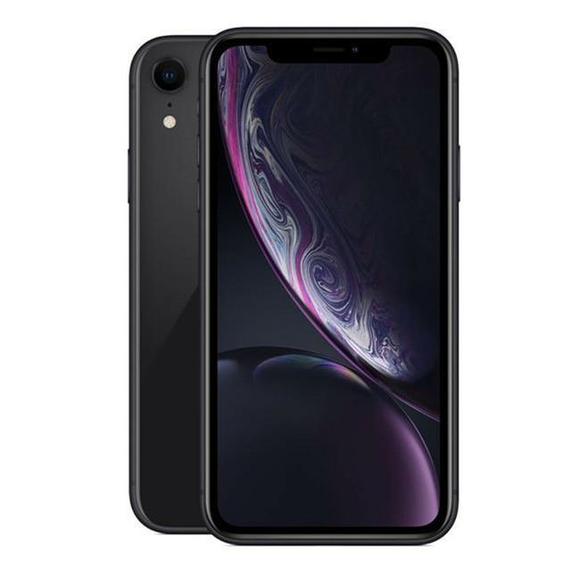 "iPhone XR Factory Dual SIM/Single SIM Unlocked Original Mobile Phone 4G LTE 6.1"" Hexa-core 12MP&7MP RAM 3GB ROM 64GB 2"