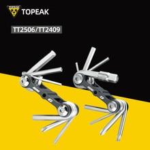 Многофункциональный инструмент TOPEAK TT2506/TT2409 из ванадиевой стали