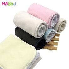 MABOJ многоразовые вставки для подгузников, микрофибра, бамбуковый уголь, пеньковая хлопковая ткань, вставки для подгузников, один размер, сменная подкладка для подгузников