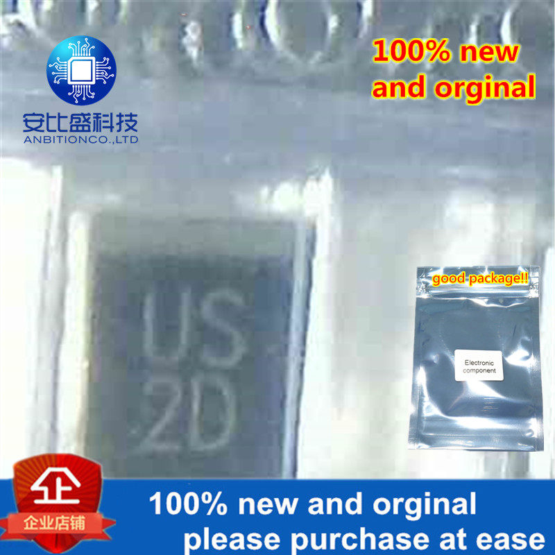 100pcs 100% New And Orginal US2D 2A200V DO214AA Silk-screen US2D Quick Recovery  In Stock