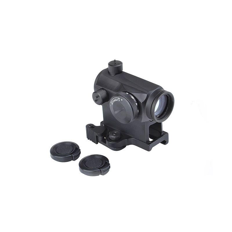 Tactical Mini 1X24 T1 Red Green Dot Sight Illuminated Sniper Rifescope With QD Mount & Low Mount Hunting Air Gun Rifle Scope image