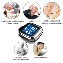 Medical Grade Laser Therapy Watch Diabetes Products Physical Therapy High Blood Pressure Pain Relief Treatment Wrist Watch high blood pressure diabetes cholesterol rhinitis treatment cerebral thrombosis medical device laser therapy wrist watch
