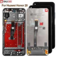 מסך עבור Huawei Honor 20 LCD תצוגת מסך מגע חדש Digitizer זכוכית פנל lcd עבור Huawei Honor 20 תצוגת מסך החלפה