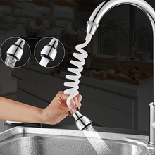 Faucet Kitchen ROTATABLE-FILTER Sink Extended-Sprayer-Shower Bath-Devices Long-Hose Flexible